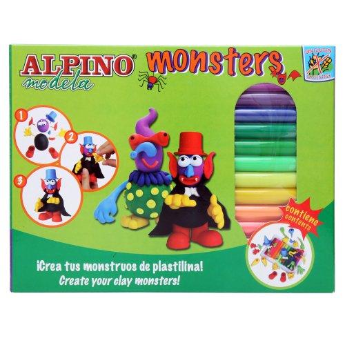 Alpino DP000131 - Kit plastilina