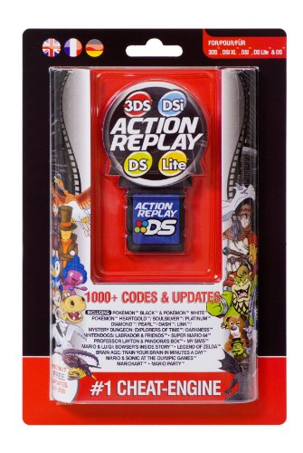 Nintendo 3DS, DSi, DSi XL, DS Lite - ACTION REPLAY