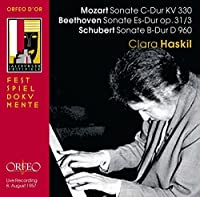 Sonate C-Dur Kv 330; Sonate Es by MOZART / BEETHOVEN / SCHUBERT (2007-02-27)