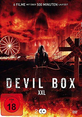 Devil Box XXL : Demon Kiss - Devil Reborn - Im Auftrag des Teufels 2 - Tasmanian Devils - Five Girls - The Devil's Rock - 6 Filme auf 2DVDs