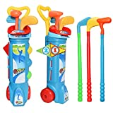 Bageek Kids Golf Toy Set Creative Funny Golf Game Toy Golf Sport Toy para Interior al Aire Libre