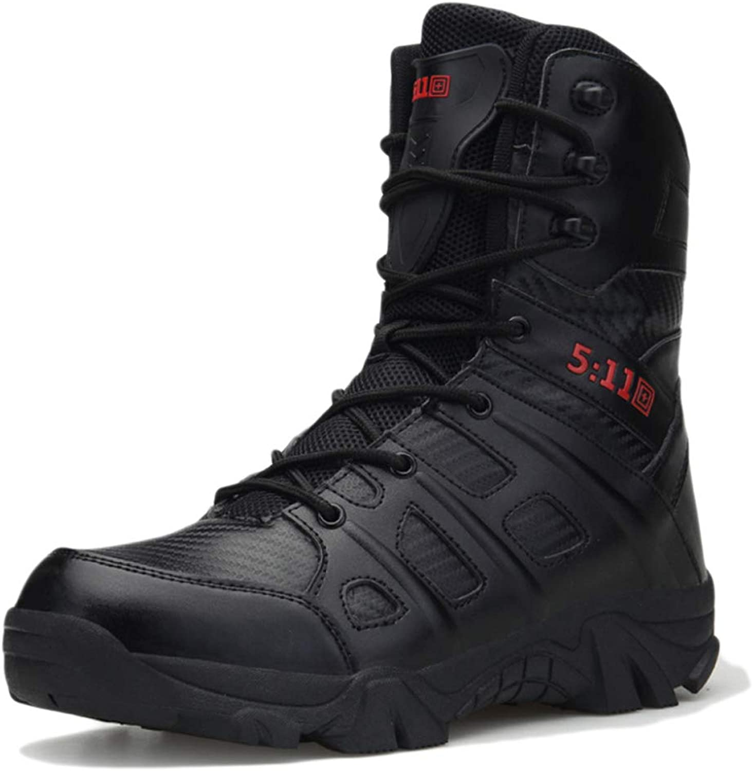 Mens High Top shoes Outdoor Mountaineering Boots Military Police Army Combat Boot Armed Tactics Security Footwear Comfortable Breathable