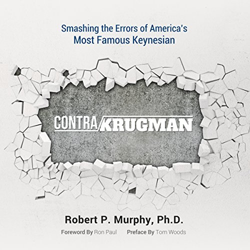 Contra Krugman audiobook cover art