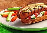 Lightlife Vegan Plant Based Jumbo Smart Veggie Hot Dogs 13.5 ounce (5 links per pack) Pack of 12