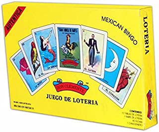 Don Clemente Authentic Loteria Card Game Gift Box Set