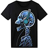 LED T-Shirt für Party Hiphop Cosplay Konzert Geburtstagsgeschenk Beste Christmas Kostüm Sound...