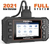 FOXWELL NT624 Elite OBD2 Scanner Car Full Systems Diagnostic Scan Tool for All Cars with Oil Light & EPB Reset Service, Check Engine ABS SRS Transmission EPS HVAC Headlamp Code Reader