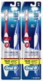 Oral-B Pro-Health All-In-One Medium Toothbrush (4 Count) , Color May Vary