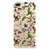 Funda para iPhone 7 Plus - iPhone 8 Plus Oficial de Toy Story Muñecos Toy Story Siluetas para Proteger tu móvil. Carcasa para Apple de Silicona Flexible con Licencia Oficial de Disney.
