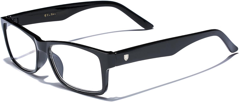 Horn Rimmed Rectangle Reading Glasses