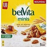 Belvita Minis - Galletas miel y pepitas de chocolate - 6 x 35 g - 210 g