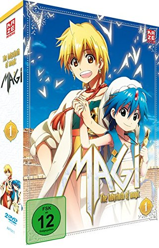 DVD Magi: The Labyrinth of Magic, Box 1 [Import allemand]