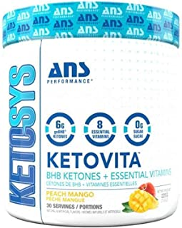 KetoVita BHB Keto Diet Supplement - Boosts Ketosis, Energy & Focus - Supports Keto Diet with Premium Beta-Hydroxybutyrate ...