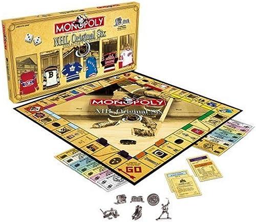 moda Usaopoly Usaopoly Hockey Hockey Hockey Original Six (Revised) Monopoly  bienvenido a comprar