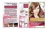 L'Oréal Paris - Excellence Crème - Coloration Permanente Triple Soin 100% Couverture Cheveux Blancs - Nuance 7,1 Blond Cendré