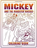 Mickey Roadster Coloring Book: Mickey Roadster Adult Coloring Books For Men And Women Stress Relieving