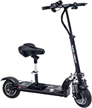 NANROBOT D5+ 2.0 Foldable Lightweight 2000W Electric Scooter with Top Speed of 40 MPH andTraveling up to 50 Miles Range - Black+Red