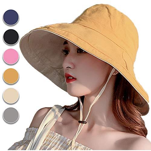 anaoo Sombrero de Mujer Gorra de Verano Sombrero Pesca del Sol Gorra a