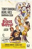 The Brass Bottle Poster 27x40 Tony Randall Burl Ives Barbara Eden