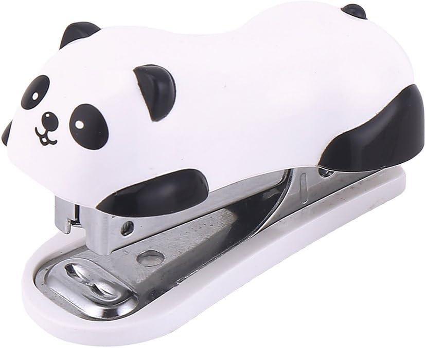 DECORA Max 72% OFF Cute Max 80% OFF Panda Mini Desktop Handy Christm for Stapler