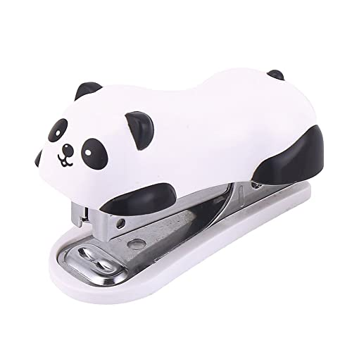 5d380a682c7d DECORA Cute Panda Mini Desktop Stapler Handy Stapler for Christmas Party  Favors Home and Office Use