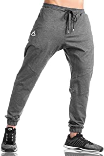 Shakestron Men's Athletic-Fit Joggers Tapered Pants Regular Fit Sweatpants for Running Training