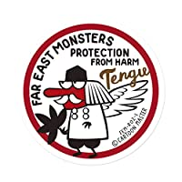 FAR EAST MONSTERS ステッカー/TENGU FEM-R02-L/CARTOON MATER
