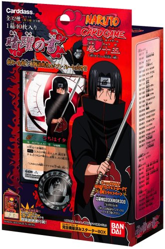 Naruto Card Game Series 15 Uchiha Itachi Starter Deck Pack