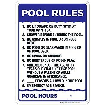Best pool signs Reviews