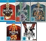 Phantasm / 1-5 (Das Böse ) FSK 18 im Set - Deutsche Originalware [5 Blu-rays]