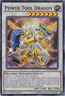 Yu-Gi-Oh! - Power Tool Dragon (LC5D-EN236) - Legendary Collection 5D's Mega Pack - 1st Edition - Common