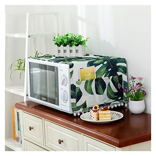 JINAN Couvercle Micro-Ondes Imperméable Couvercle Graisse avec Sac de Rangement Accessoires Cuisine Décoration de Maison