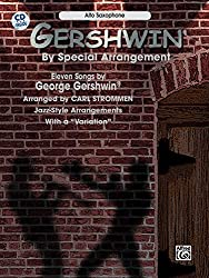 Gershwin By Special Arr As/Cd --- Sax Mib/Piano - Gershwin, George --- Alfred Publishing