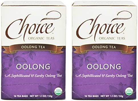 Choice Organic Teas Oolong Tea Pack of 2 Gentle and Delightful Aroma 16 Count Each product image