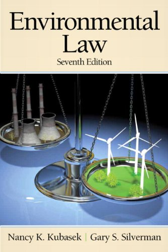Environmental Law (Pearson Custom Business Resources)