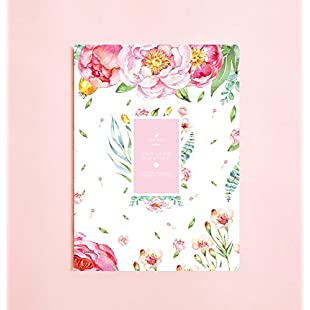 Floral Watercolor Lined Notebook | Writing Journal • Notebook for Writers Gift • Daily Planner • Large Notebook • The Notebook • Back To School • Romance • Garden Notebook • Bouquet Notebook