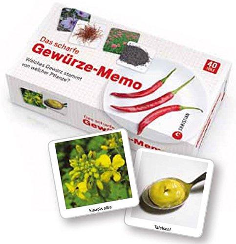 Das scharfe Gewürze-Memo: Welches Gewürz stammt von welcher Pflanze?