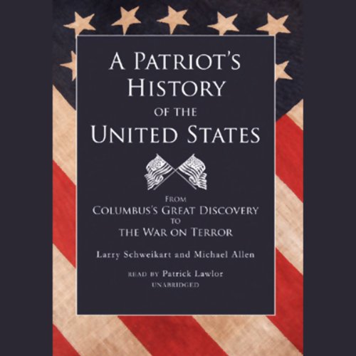 A Patriot's History of the United States audiobook cover art