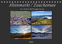 Altenmarkt / Zauchensee (Tischkalender 2022 DIN A5 quer): Schoene Impressionen aus Altenmarkt und Zauchensee (Monatskalender, 14 Seiten )