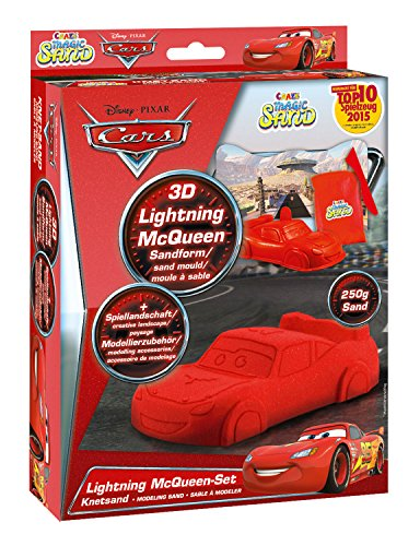 Craze 54759 Disney Cars Magic Sand, Mix