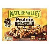 Nature Valley - Proteína - Cacahuete y chocolate - 4 barras - 40 g por barra - Barras de cereales sin gluten - Sin sabor artificial - Sin colorantes - Sin conservantes