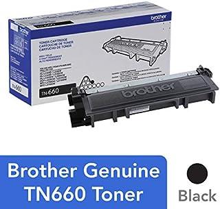 Brother Genuine TN660 High Yield Black Toner Cartridge