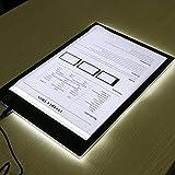 Caja de Luz Para Calcar,LED Light Tracing Pad,Dibujo Copiadora Escritorio Protección Ojos Diseño A4 Tacto Ligereza Ajustable Inteligente para el artista Cartón Hacer Sketch Diseño(Professional)