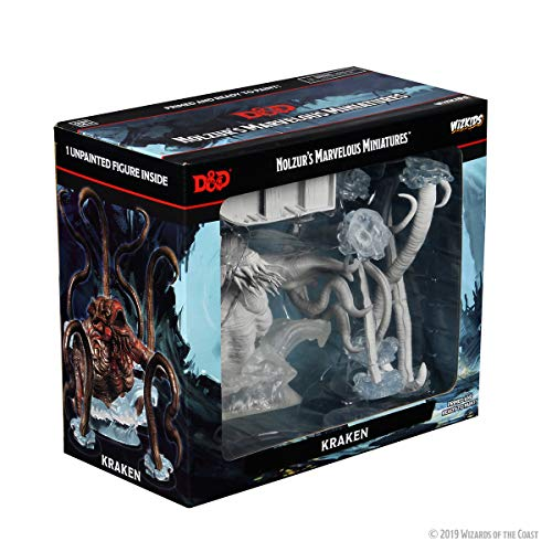 Dungeons & Dragons D&D Nolzur's Marvelous Unpainted Miniatures Kraken Figure