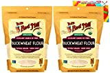 Organic Buckwheat Flour Bundle. Includes Two (2) 22oz Packages of Bob's Red Mill Organic Buckwheat Flour and an Authentic Carefree Caribou Buckwheat Flour Cookie Recipe Card! Whole Grain & Non GMO!