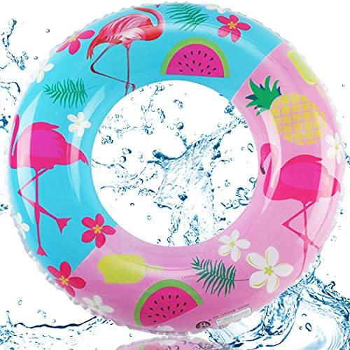 Gonfiabile Anello di Nuoto Spiaggia Galleggianti per Adulti Bambini Galleggiante Piscina Gonfiabili Rotondo Gonfiabile del Fumetto per Piscina Spiaggia Una Festa Estiva Gioccatolo (85CM)
