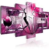 murando - Cuadro en Lienzo 200x100 cm Abstracto Impresión de 5 Piezas Material...