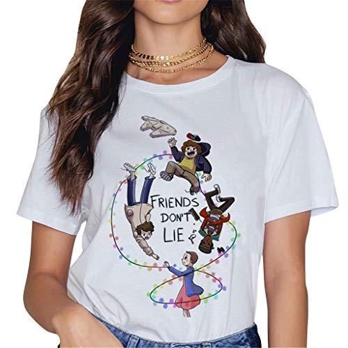 Camisetas Stranger Things Mujer, Camisetas Stranger Things N