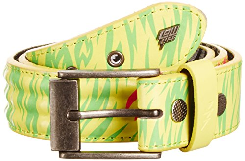 Lowlife of London Cover Up Ceinture, Jaune, FR: 80 (Taille fabricant: Small) Homme