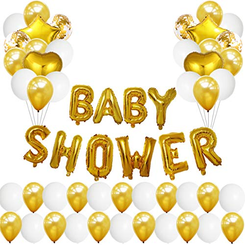puseky Baby Douche Decor Kit Aluminium Film Latex Ballonnen Feestartikelen Fotografie Props Backdrop